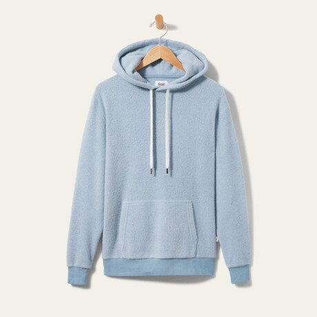 BlanketBlend Hoodie // Burr Blue (Small)