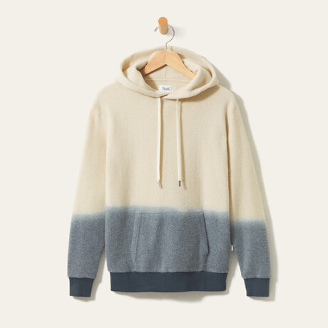 BlanketBlend Hoodie // Dip Dye (Small)