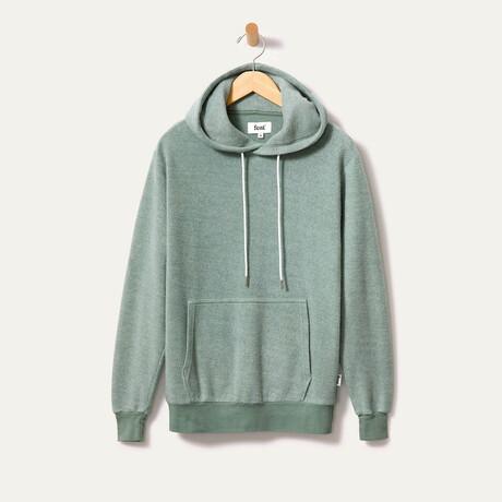 BlanketBlend Hoodie // Moss (Small)