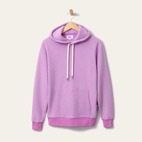 BlanketBlend Hoodie // Lilac (Small)