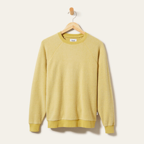 BlanketBlend Crewneck // Yellow Stone (Small)