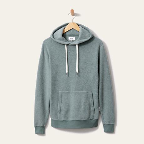 BlanketBlend Hoodie // Seaglass (Small)