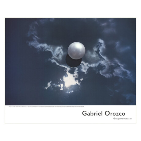 Gabriel Orozco // Ball On Water // 2007 Offset Lithograph
