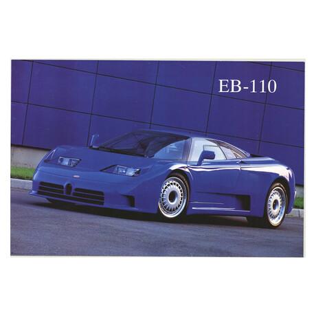 EB-110 // Maggi & Maggi // 1999 Offset Lithograph
