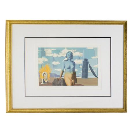 Le Domaine Enchante (VI) // Rene Magritte // 1968 Lithograph