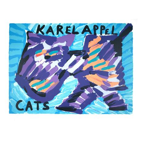 Cats // Karel Appel // 1978 Lithograph