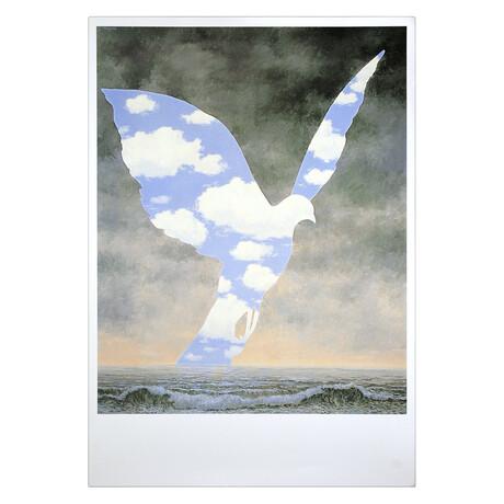 La Grande Famille // Rene Magritte // Offset Lithograph
