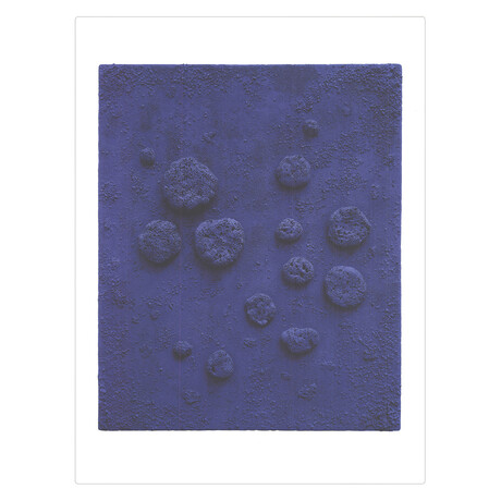 Yves Klein // L'Accord Bleu // 2018 Offset Lithograph