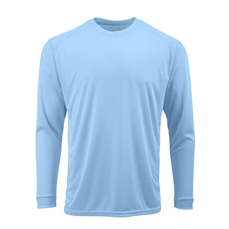 Perform Basics Dri-Tech Long Sleeve T-Shirt // Light Blue (S)