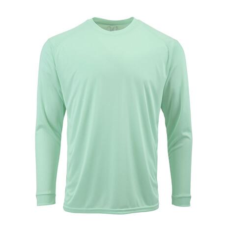 Perform Basics Dri-Tech Long Sleeve T-Shirt // Mint (S)