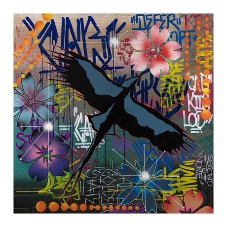 "Free Spirit by CAB (24""W x 24""H)"