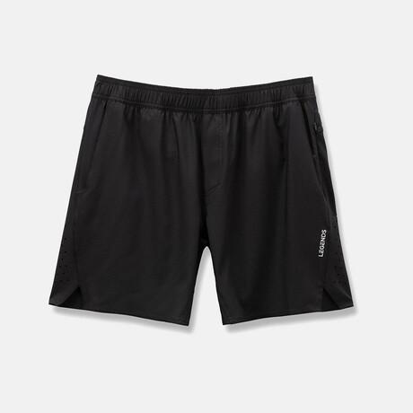 "Relay 7"" Linerless Shorts // Black (S)"