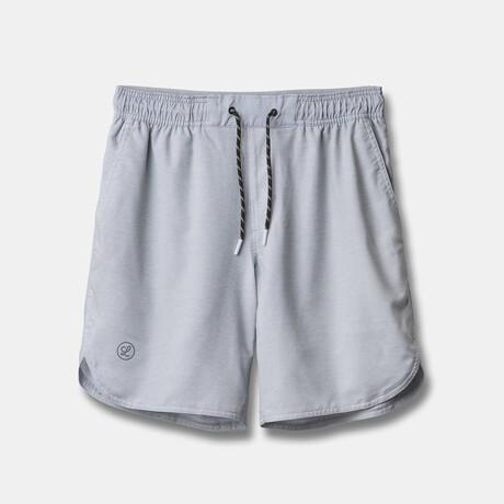 "Luka 7"" Lined Shorts // Gray (S)"