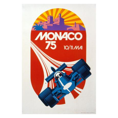 Monaco Grand Prix 1975 // Roland Hugon