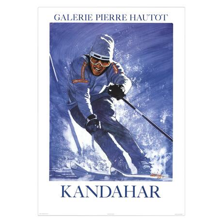 Kandahar // Jean-Francois Arrigoni-Neri // 1986 Lithograph