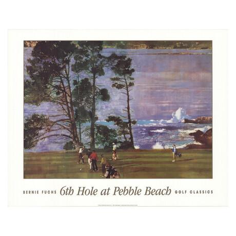 6th Hole At Pebble Beach // Bernie Fuchs
