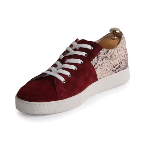 Atlas Sneakers // Claret Red (Euro: 39)