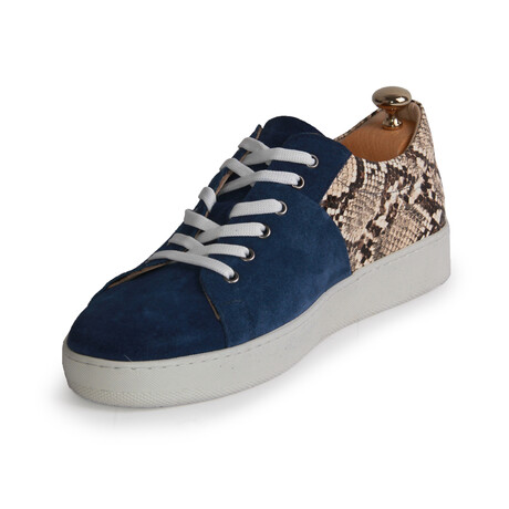 Atlas Sneakers // Navy Blue (Euro: 39)