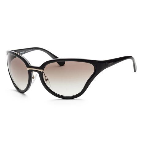 Prada // Women's PR22VS-1AB0A768 Sunglasses // Black + Gray