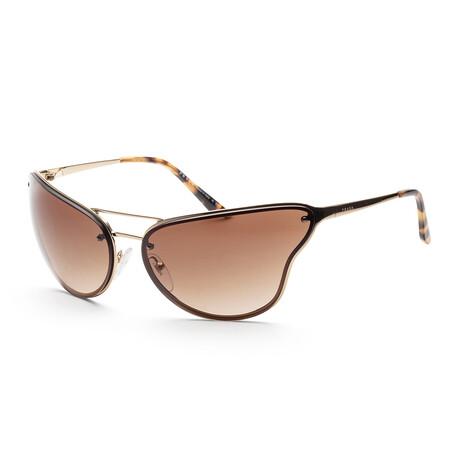 Men's PR74VS-5AK6S169 Sunglasses // Gold + Brown Gradient