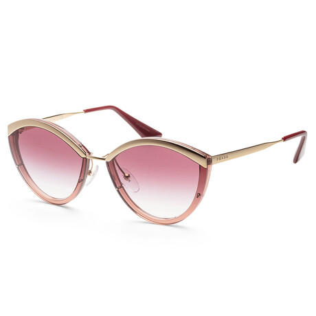 Prada // Men's PR07US-96709464 Sunglasses // Gold + Pink + Violet Gradient