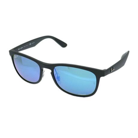 Ray-Ban // Men's RB4263-601SA155 Chromance Polarized Sunglasses // Matte Black + Polar Gray Gradient