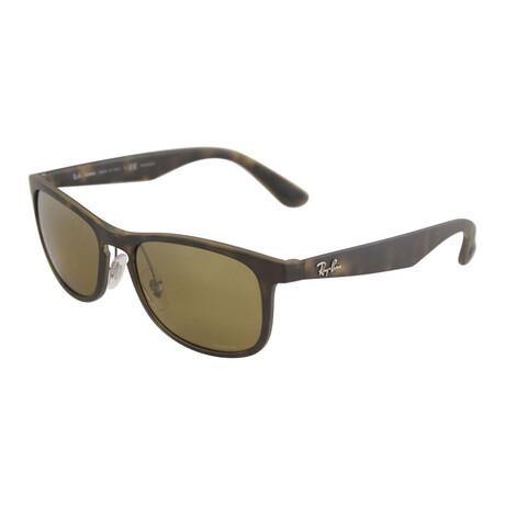 Ray-Ban // Men's RB4263-894-A355 Chromance Sunglasses // Matte Havana + Gray Gradient