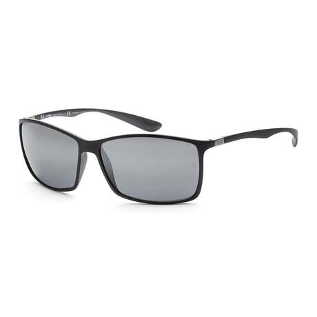 Men's RB4179-601S8262 Sunglasses // Matte Black + Brown Gradient