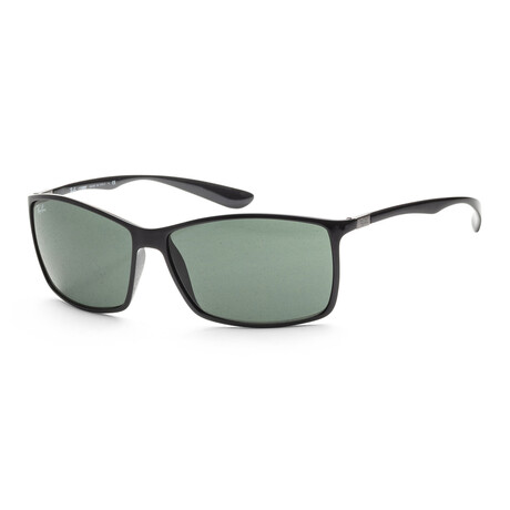Ray-Ban // Men's RB4179-601-7162 Polarized Sunglasses // Black + Green