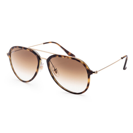 Ray-Ban // Men's RB4298-710-51-57 Sunglasses // Light Havana + Brown Gradient