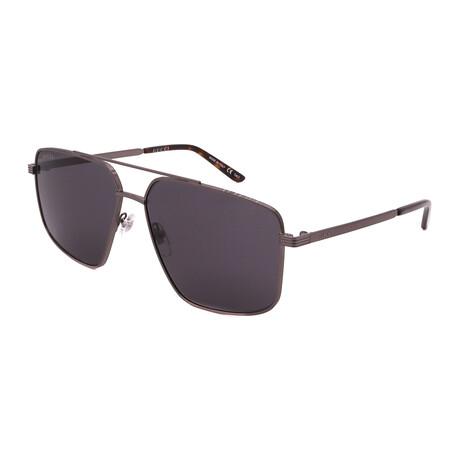 Men's GG0941S-001 Pilot Sunglasses // Ruthenium