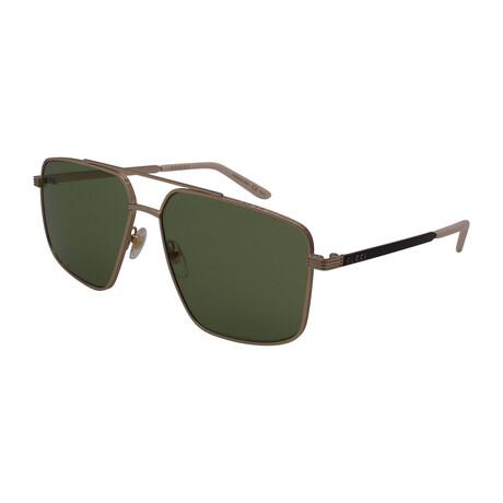 Men's GG0941S-002 Pilot Sunglasses // Gold