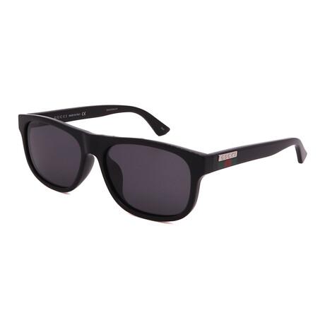 Men's GG0770SA-001 Square Sunglasses // Black