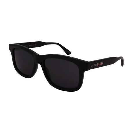 Men's GG0824S-005 Square Sunglasses // Black
