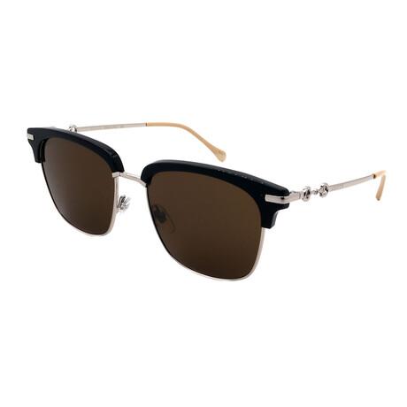 Unisex GG0918S-001 Square Sunglasses // Black