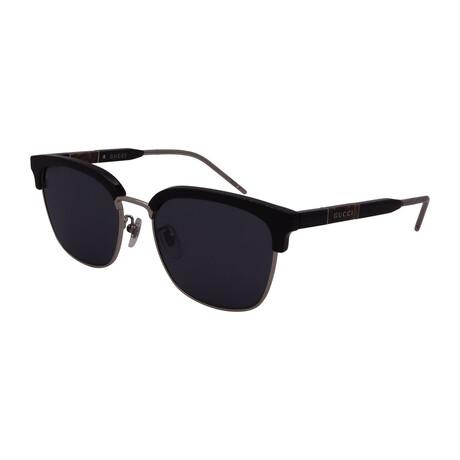 Unisex GG0846SK-001 Square Sunglasses // Black