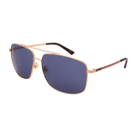 Men's GG836SK-004 Pilot Sunglasses // Gold