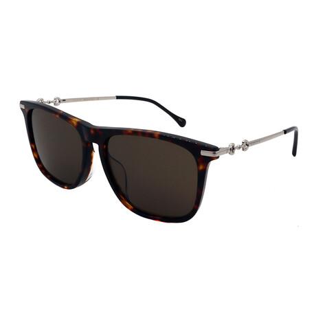 Unisex GG0915SA-002 Square Sunglasses // Havana