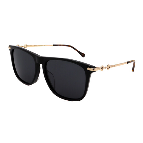 Unisex GG0915SA-001 Square Sunglasses // Black