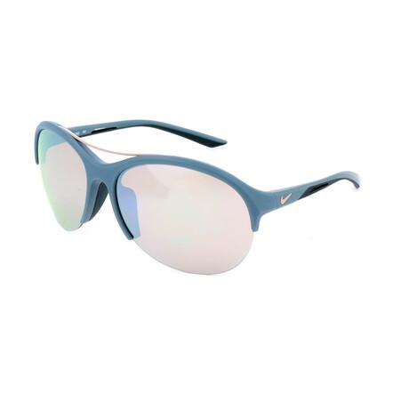 Nike // Unisex EV1018 Sunglasses // Light Blue