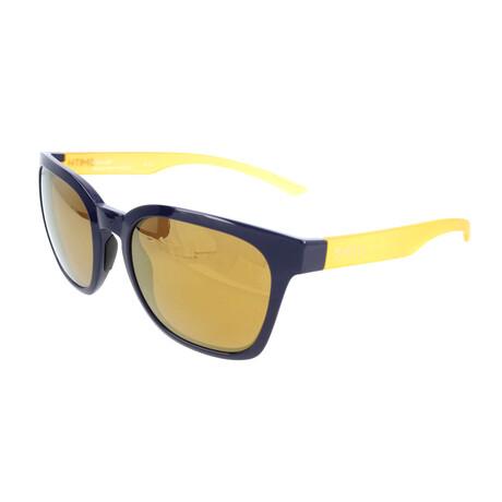 Smith // Unisex Founder Polarized Sunglasses // Blue + Yellow