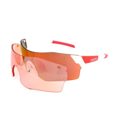 Smith // Unisex Pivlock Arena Sunglasses // White