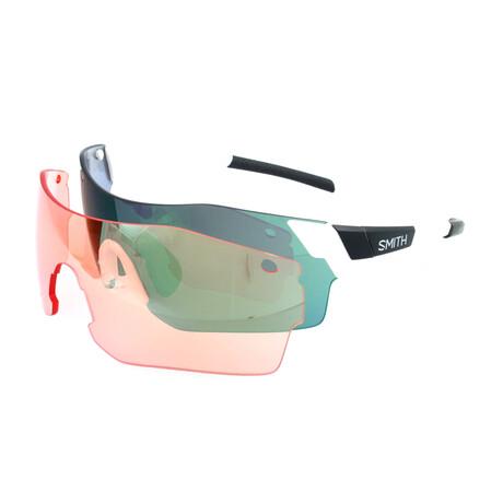 Smith // Unisex Pivlock Arena Sunglasses // White Crystal + Gray