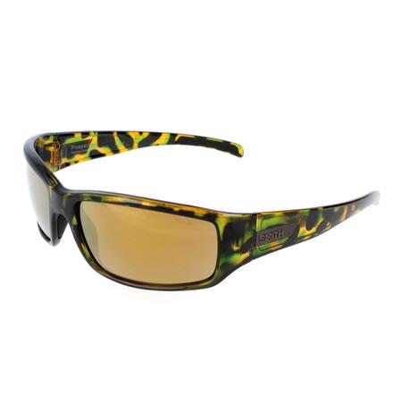 Smith // Men's Prospect Polarized Sunglasses // Green Havana