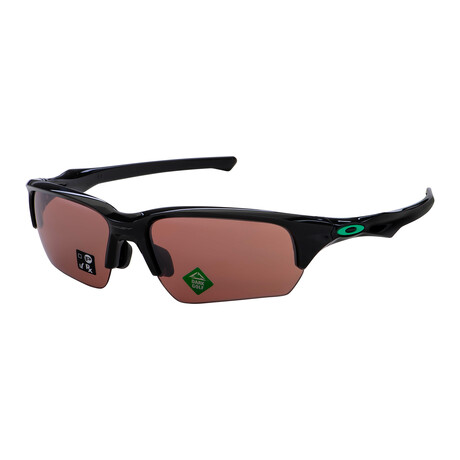 Oakley // Men's OO9372-11-65 Flak Beta Sunglasses // Carbon Black + Prizm Dark Golf
