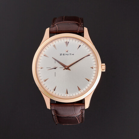 Zenith Elite Ultra Thin Automatic // 18.2010.681/01.C498 // Store Display