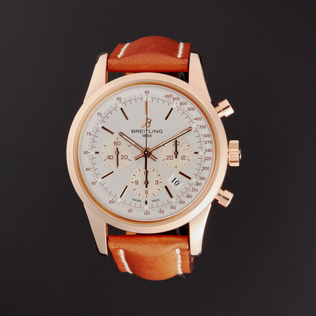 Breitling Transocean Chronograph Automatic // RB015212/G738-435X // Store Display