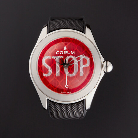Corum Bubble Stop Automatic // 082.410.20/0601 ST01 // Store Display