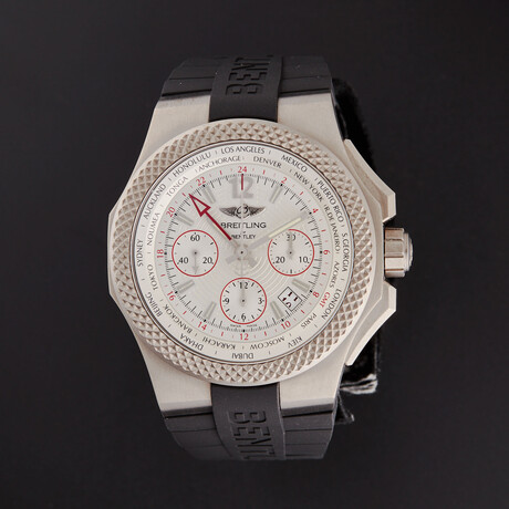 Breitling Bentley GMT Automatic // EB043335/G801-232S // Store Display