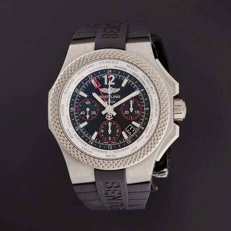 Breitling Bentley GMT Automatic // EB043335/BD78-232S // Store Display